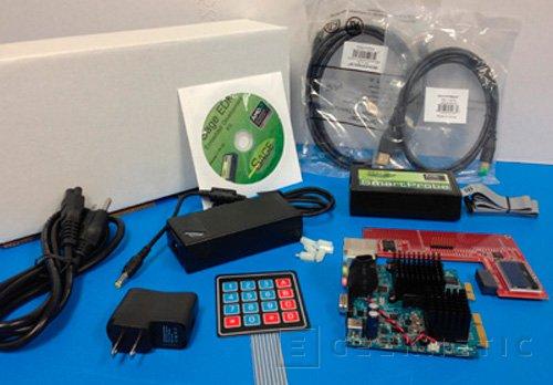 AMD Gizmo, pequeña placa con CPU integrada, Imagen 2