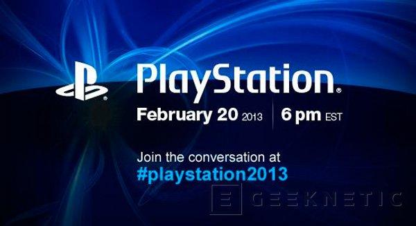 Sony anuncia evento PlayStation para el 20 de febrero, Imagen 2
