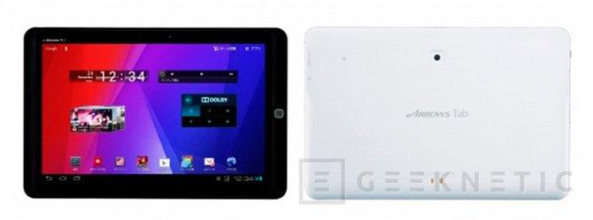Fujitsu lanza la AR70B en Japón, una tablet con resolución FullHD, Imagen 1