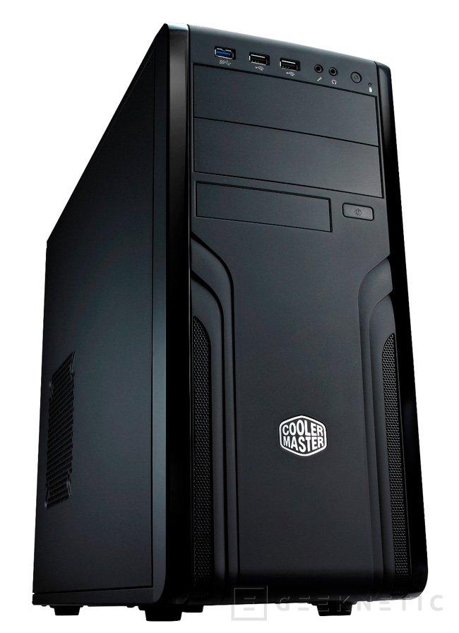 Cooler Master presenta su nueva torre CM Force 500, Imagen 1