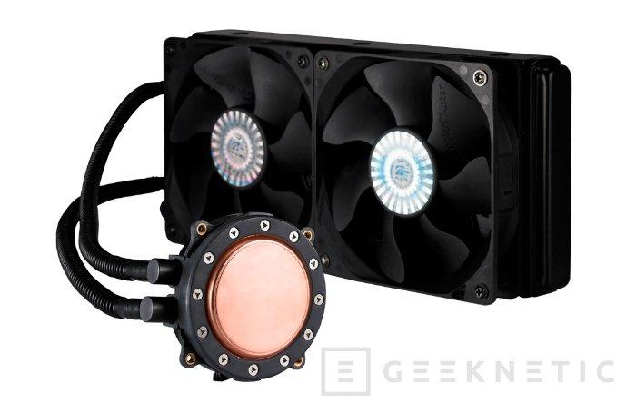 Cooler Master comercializa sus nuevos Kits Seidon 120XL y 240M en Europa, Imagen 2