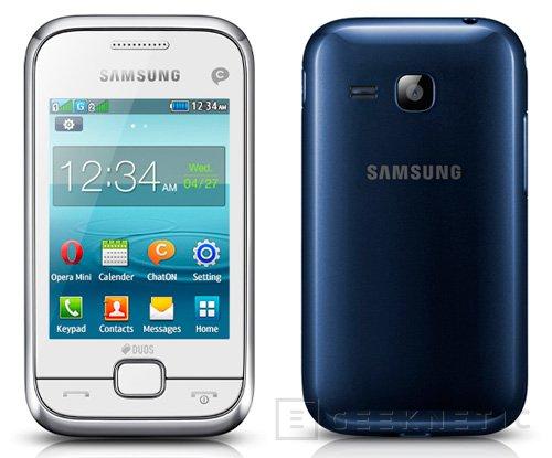 Samsung presenta su gama REX de Smartphones, Imagen 1