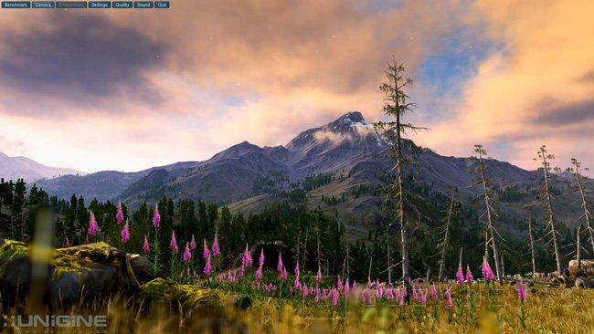 Unigine Valley, nuevo benchmark gráfico, Imagen 1