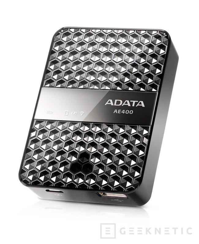 ADATA DashDrive AIR AE400, lector de tarjetas inalámbrico, Imagen 2