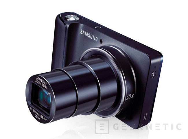 Samsung Galaxy Camera WiFi, Imagen 2