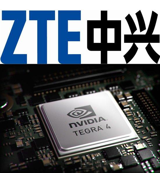ZTE adoptará los chips Tegra 4 en sus próximos terminales, Imagen 1