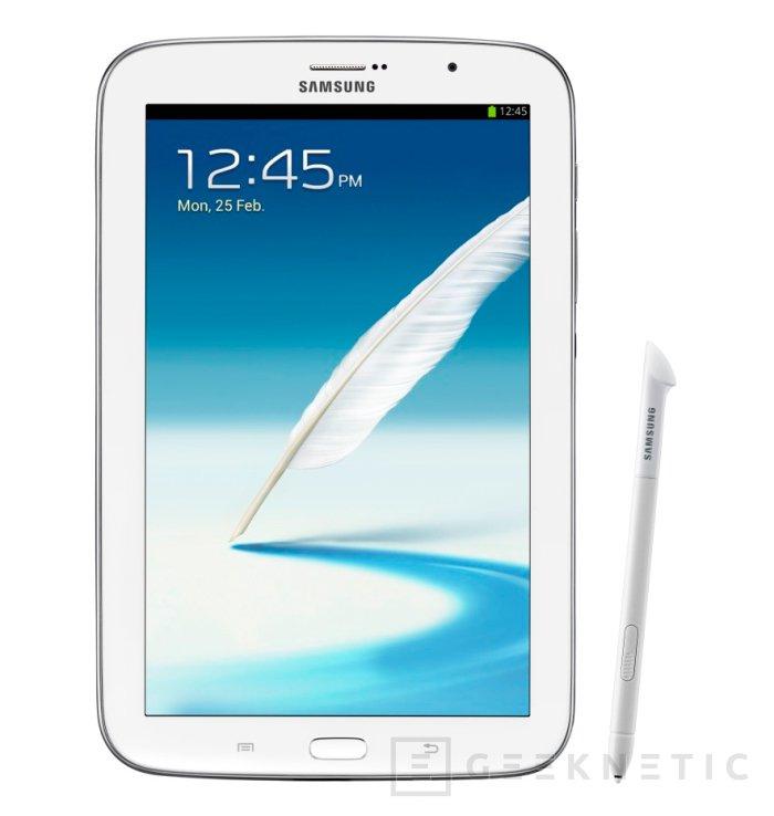 MWC 2013. Samsung adelanta el Galaxy Note 8.0, Imagen 1