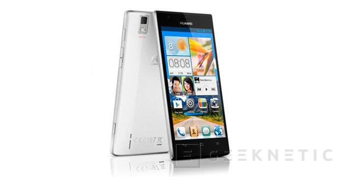 MWC 2013. Huawei Ascend P2, Imagen 1