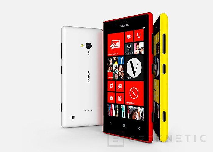 MWC 2013. Nuevos Nokia 520 y 720, Imagen 2
