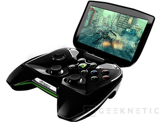 MWC 2013. NVIDIA Project SHIELD, Imagen 1