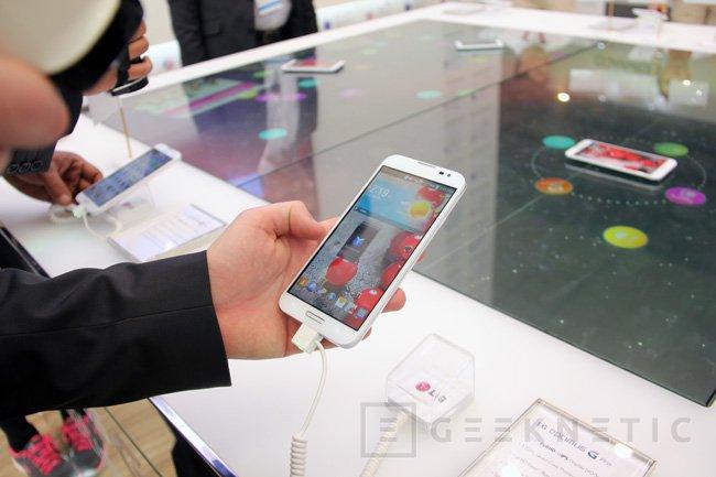 MWC 2013. LG Optimus G y Optimus G Pro, Imagen 2