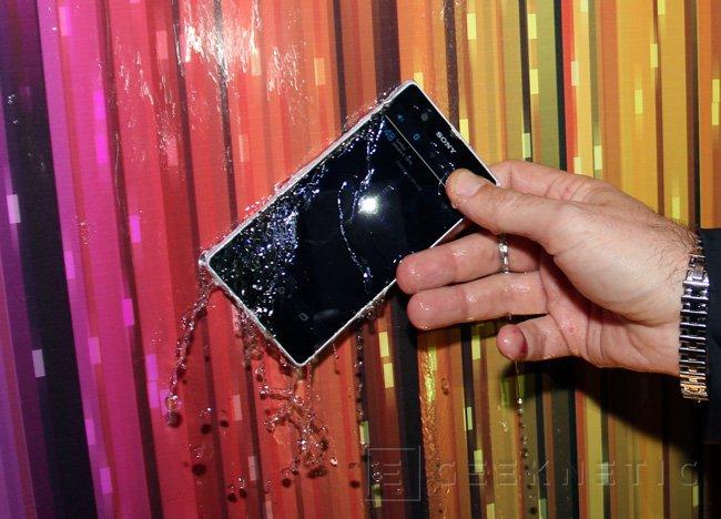 MWC 2013. Sony Xperia Z y Xperia Tablet Z, Imagen 2