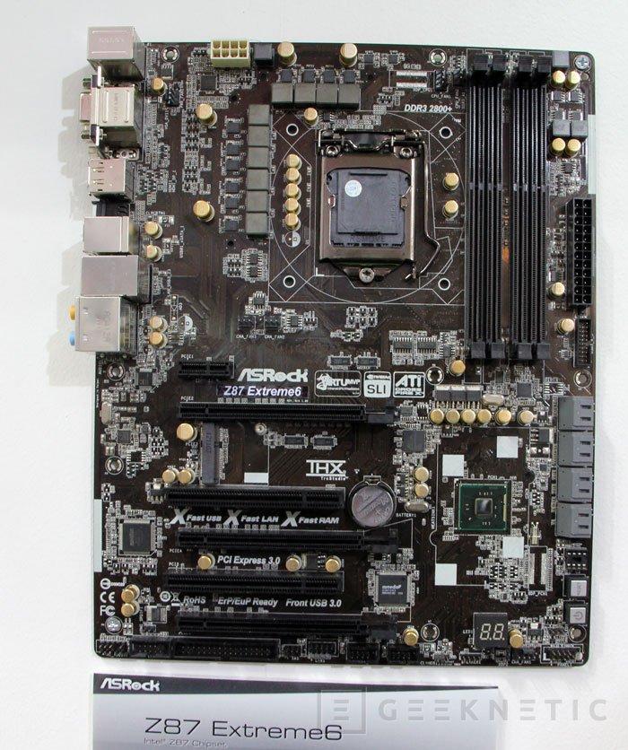 CEBIT 2013. ASRock muestra nuevas placas base LGA 1150 para Intel Haswell, Imagen 1