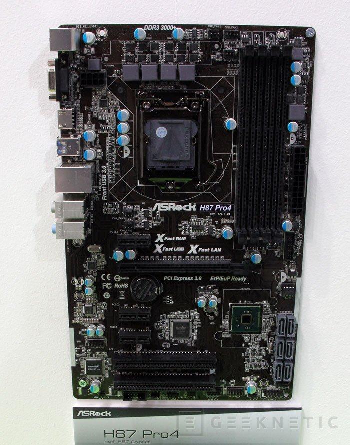 CEBIT 2013. ASRock muestra nuevas placas base LGA 1150 para Intel Haswell, Imagen 2