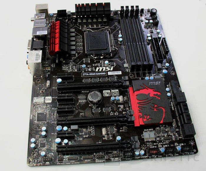 CeBIT 2013. MSI Z77A-GD65, Imagen 2