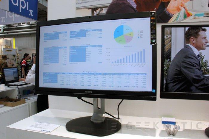 CeBIT 2013. Philips enseña sus nuevos modelos de monitores, Imagen 3