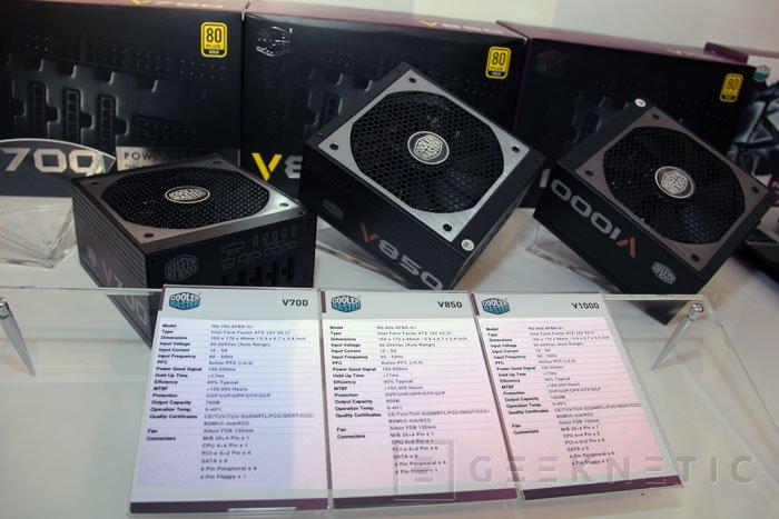 CeBIT 2013. Nuevas series de fuentes de alimentación de Cooler Master, Imagen 1
