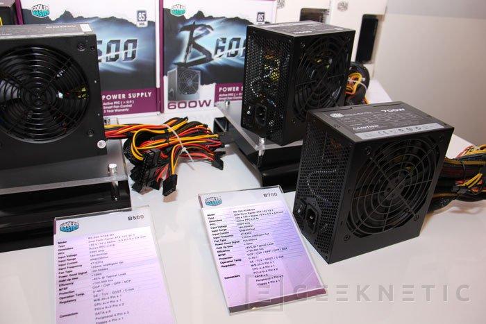 CeBIT 2013. Nuevas series de fuentes de alimentación de Cooler Master, Imagen 2
