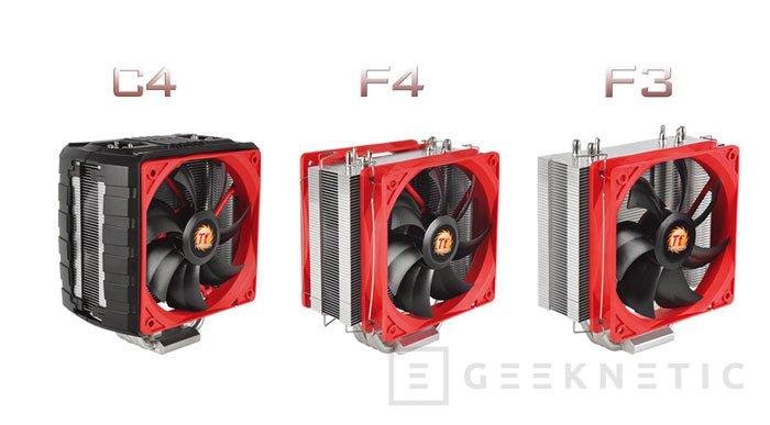 Thermaltake presenta la serie NiC de disipadores para CPU, Imagen 1