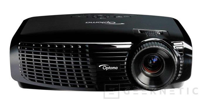 Nuevos proyectores de Optoma, Imagen 1