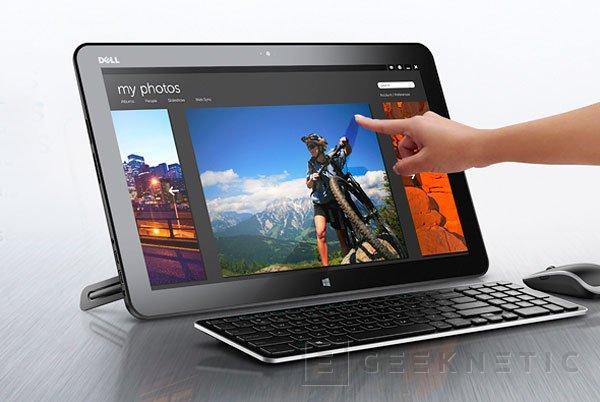 AiO XPS 18, Dell se sube al carro de los tablets todo-en-uno, Imagen 1