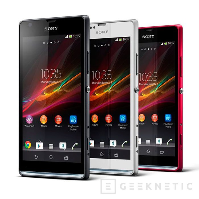 Sony presenta nuevos SmartPhones para complementar al Xperia Z, Imagen 1