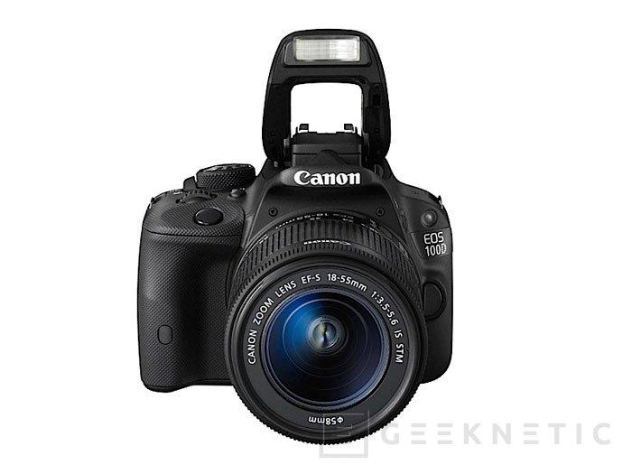Canon presenta la EOS 100D, una cámara reflex de pequeño tamaño, Imagen 1