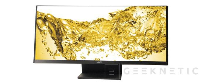 AOC presenta nuevo monitor ultra panorámico, Imagen 1