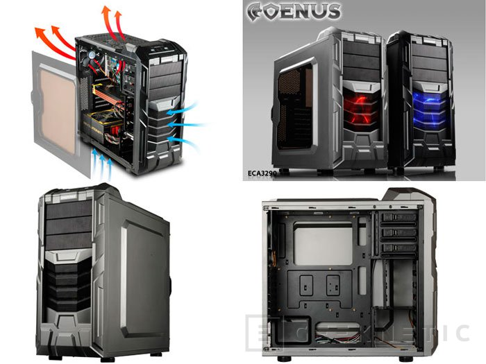 Nueva serie de semi-torres COENUS de Enermax , Imagen 1