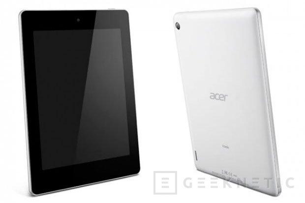 Acer Iconia A1, un nuevo tablet económico por menos de 200 Euros, Imagen 2