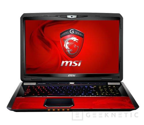 MSI presenta el portátil gaming GT70 Dragon Edition con una GTX680M, Imagen 1