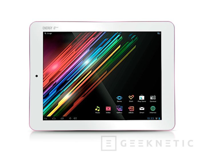 Energy System lanza su Tablet i8 Dual por menos de 160 Euros, Imagen 1