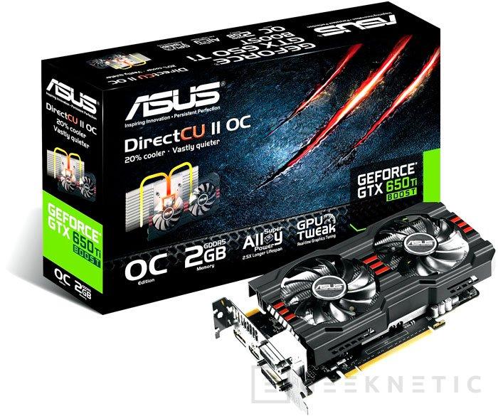 ASUS actualiza su GTX 650 Ti DirectCU II con Boost, Imagen 1