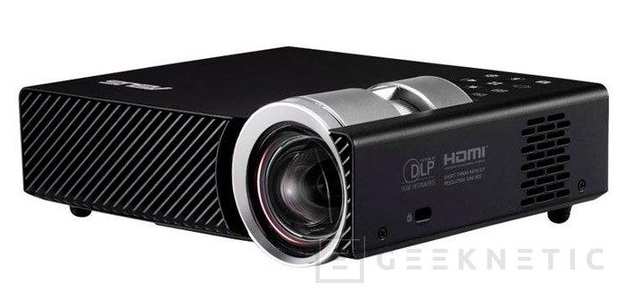 Nuevo proyector ASUS B1M con tecnología LED y 700 lúmenes de brillo y tamaño reducido, Imagen 2