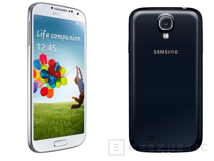 El Samsung Galaxy 4 estará disponible en España el 27 de Abril, Imagen 1