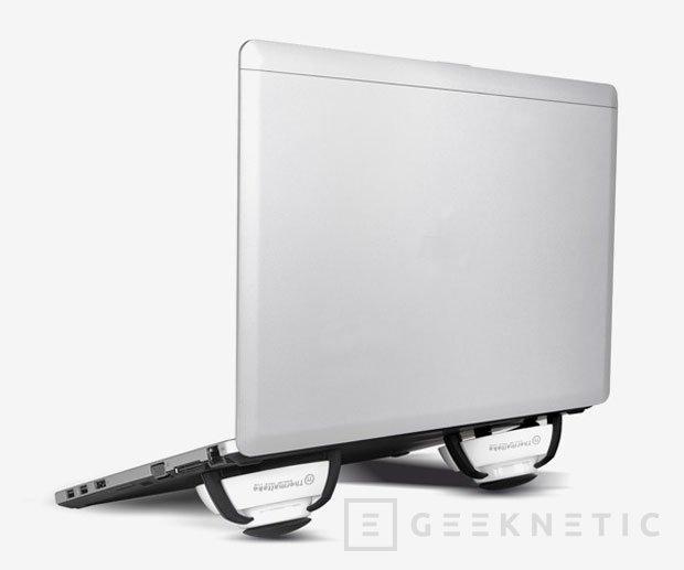 Nuevo Thermaltake GOrb II, un curioso y original refrigerador para portátiles, Imagen 2