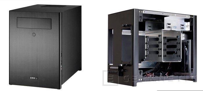 Nuevas torres de Lian LI para ordenadores de pequeño formato con placas Mini-ITX, Imagen 1