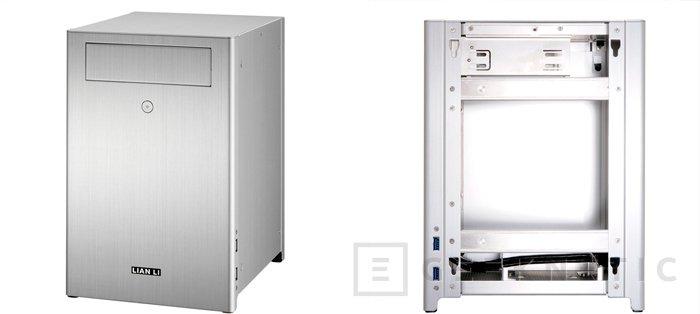 Nuevas torres de Lian LI para ordenadores de pequeño formato con placas Mini-ITX, Imagen 2