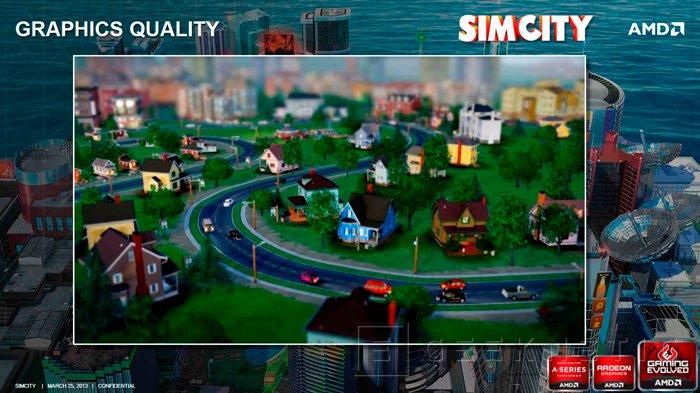 AMD incluye el nuevo SimCity con la compra de sus APU Trinity, Imagen 1