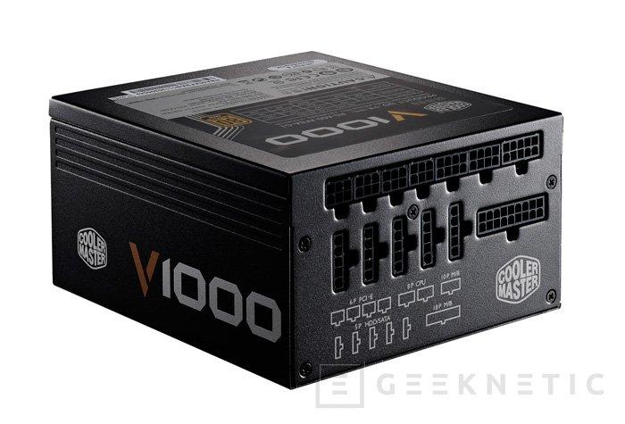 Cooler Master lanza las fuentes de alimentación V-Series con PFC activo y hasta 1000W, Imagen 1