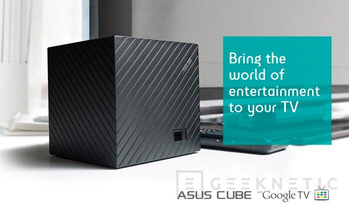 ASUS Cube, llega la Google TV con Android de ASUS, Imagen 1