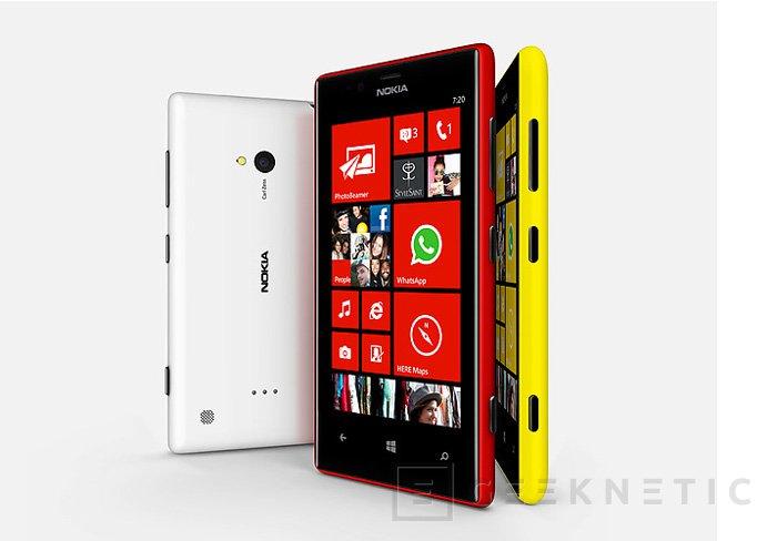 El Nokia Lumia 720 llega a España por 319 Euros, Imagen 1