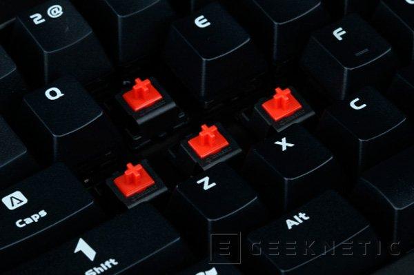 MSI debuta en el mercado de teclados mecánicos con el MSI GK-601, Imagen 3