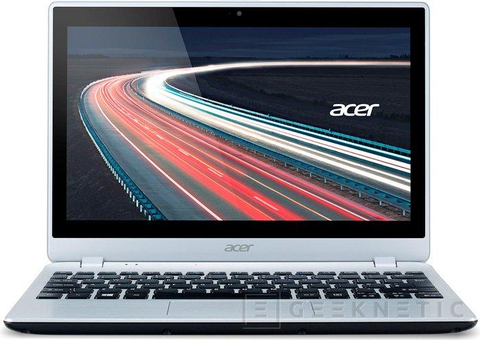 Acer deja ver su primer portátil con una APU Temash de AMD, Imagen 1