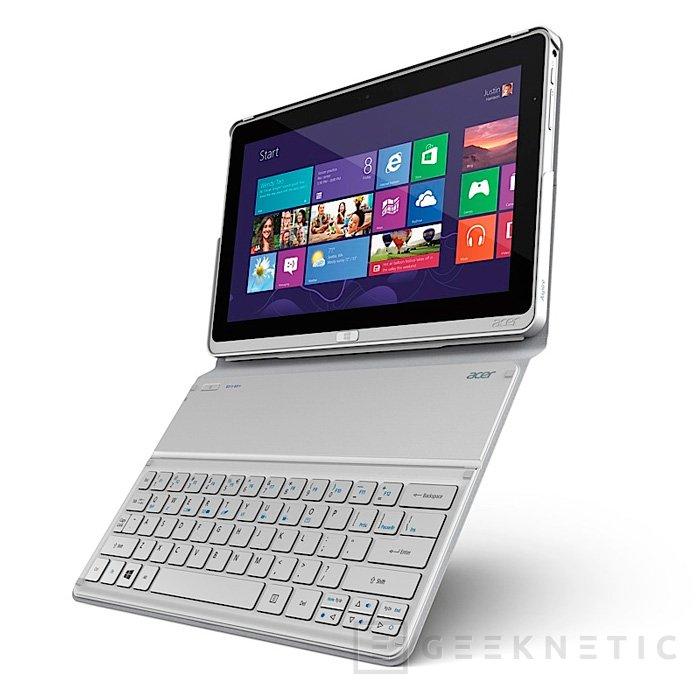 Acer Aspire P3, tablet híbrida con funda con teclado al estilo Surface, Imagen 1