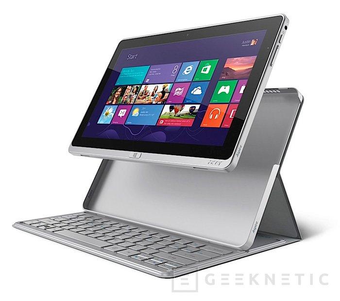 Acer Aspire P3, tablet híbrida con funda con teclado al estilo Surface, Imagen 2
