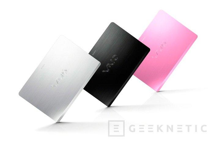 Sony Vaio Fit, nuevos portátiles de poco grosor y precio contenido, Imagen 2
