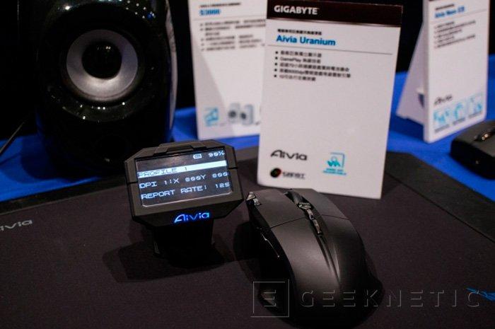 Gigabyte prepara un teclado con pantalla OLED externa, Imagen 1