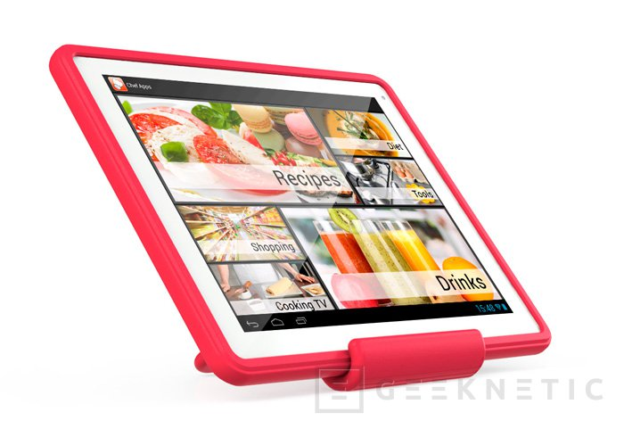 """Llega la tablet Archos ChefPad para  los más """"cocinillas"""", Imagen 1"""