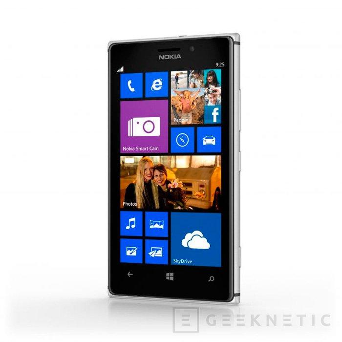 Nokia presenta el Lumia 925 vestido de aluminio y con pantalla AMOLED, Imagen 2